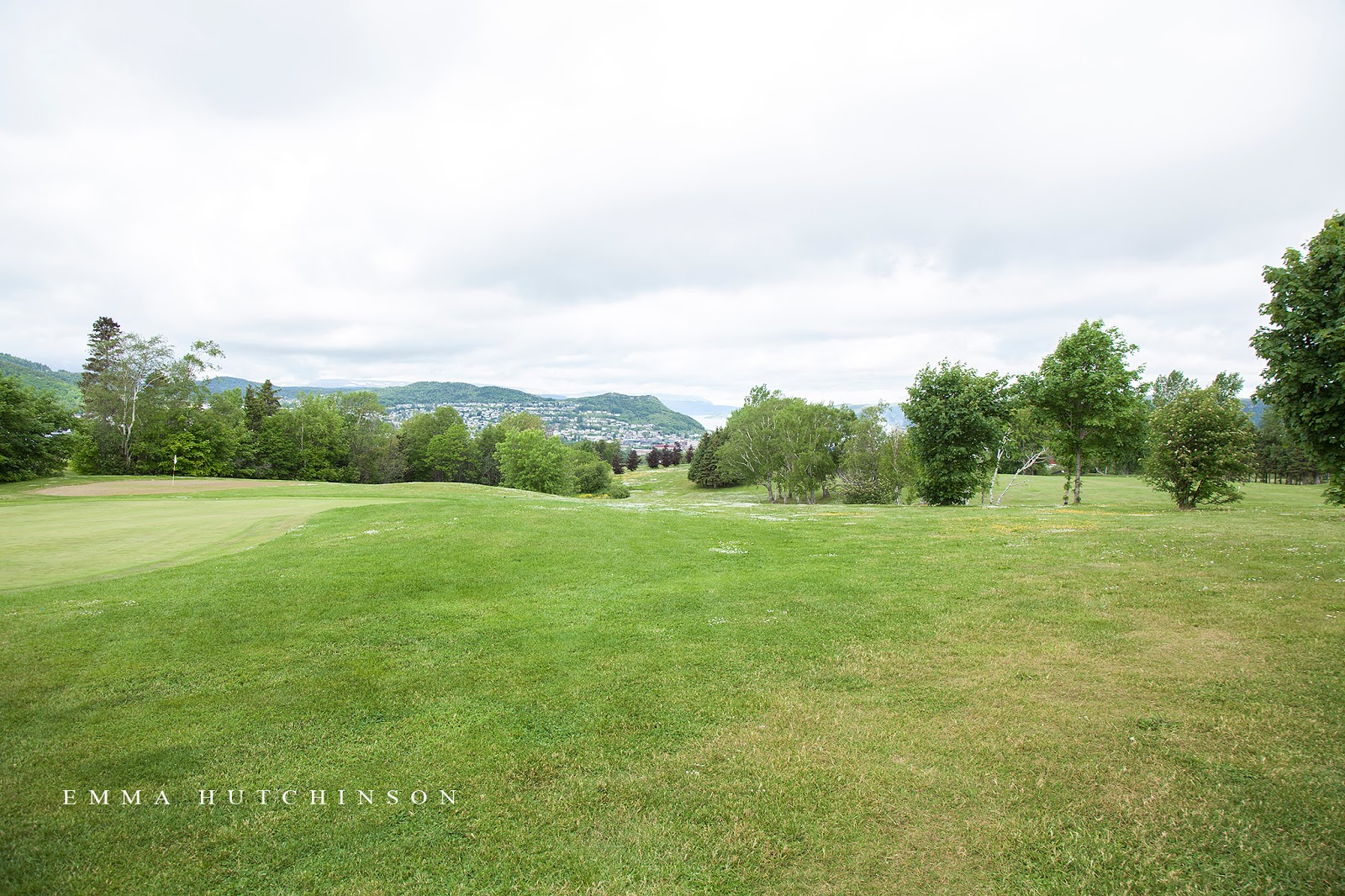 The wedding ceremony took place at the Blomidon Golf and Country Club in Corner Brook, Newfoundland