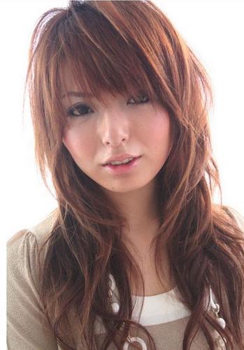 model rambut segi ala jepang yang trend