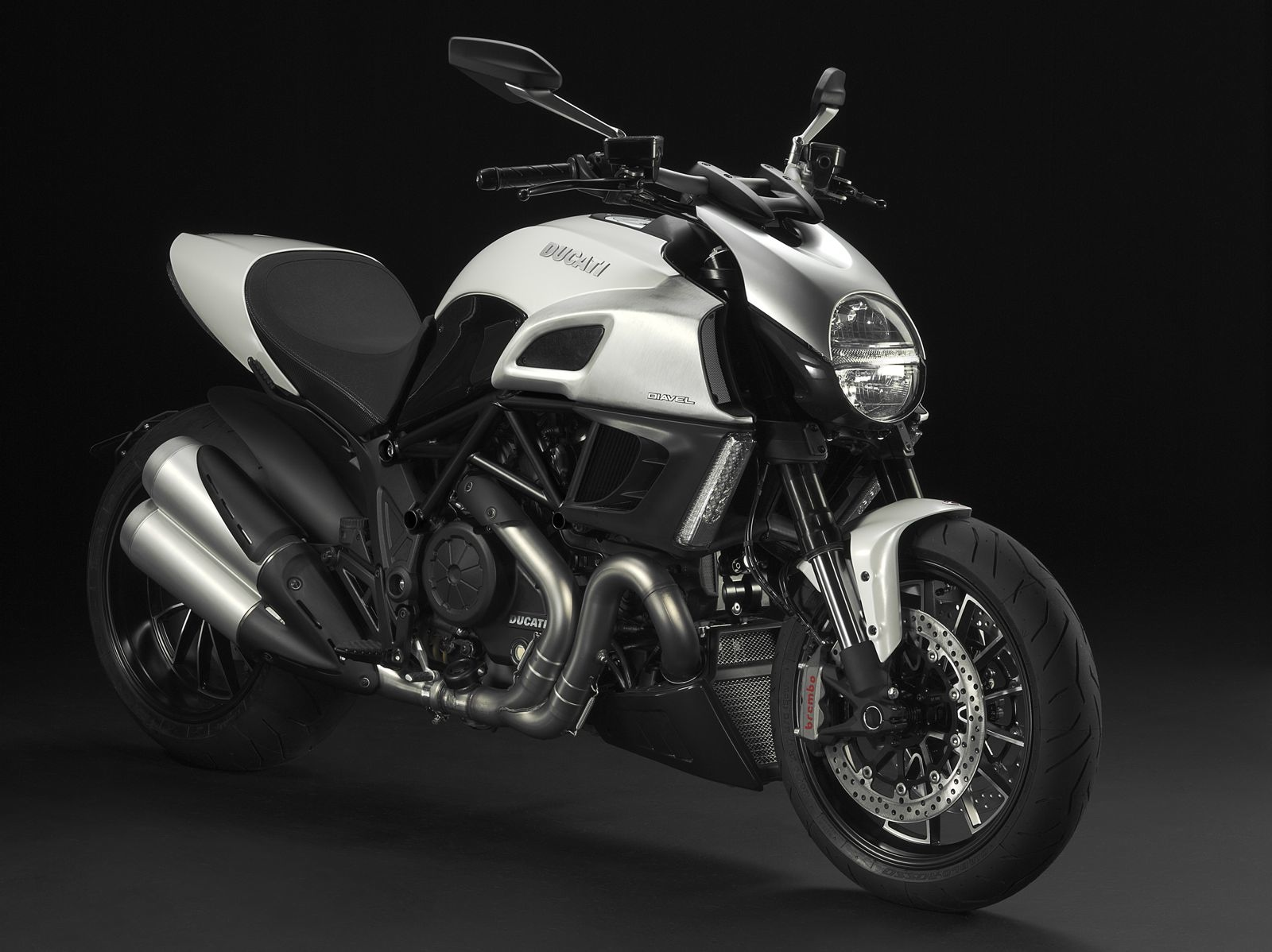 Sandeep Rana Ducati Diavel Carbon Red