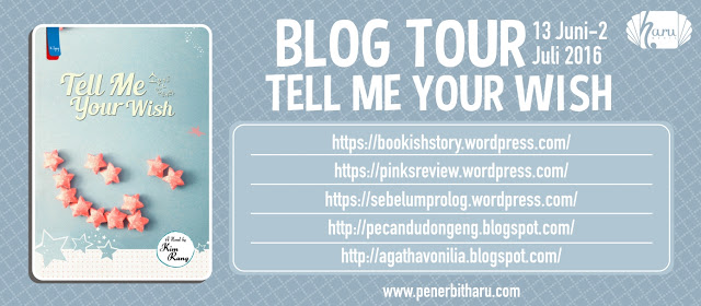 Blog Tour Tell Me Your Wish