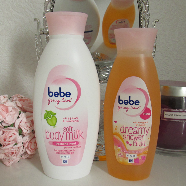 bebe Young Care Soft Body Milk & bebe young care dreamy shower fluid
