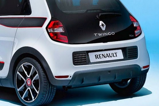 2015 Renault Twingo III rear view