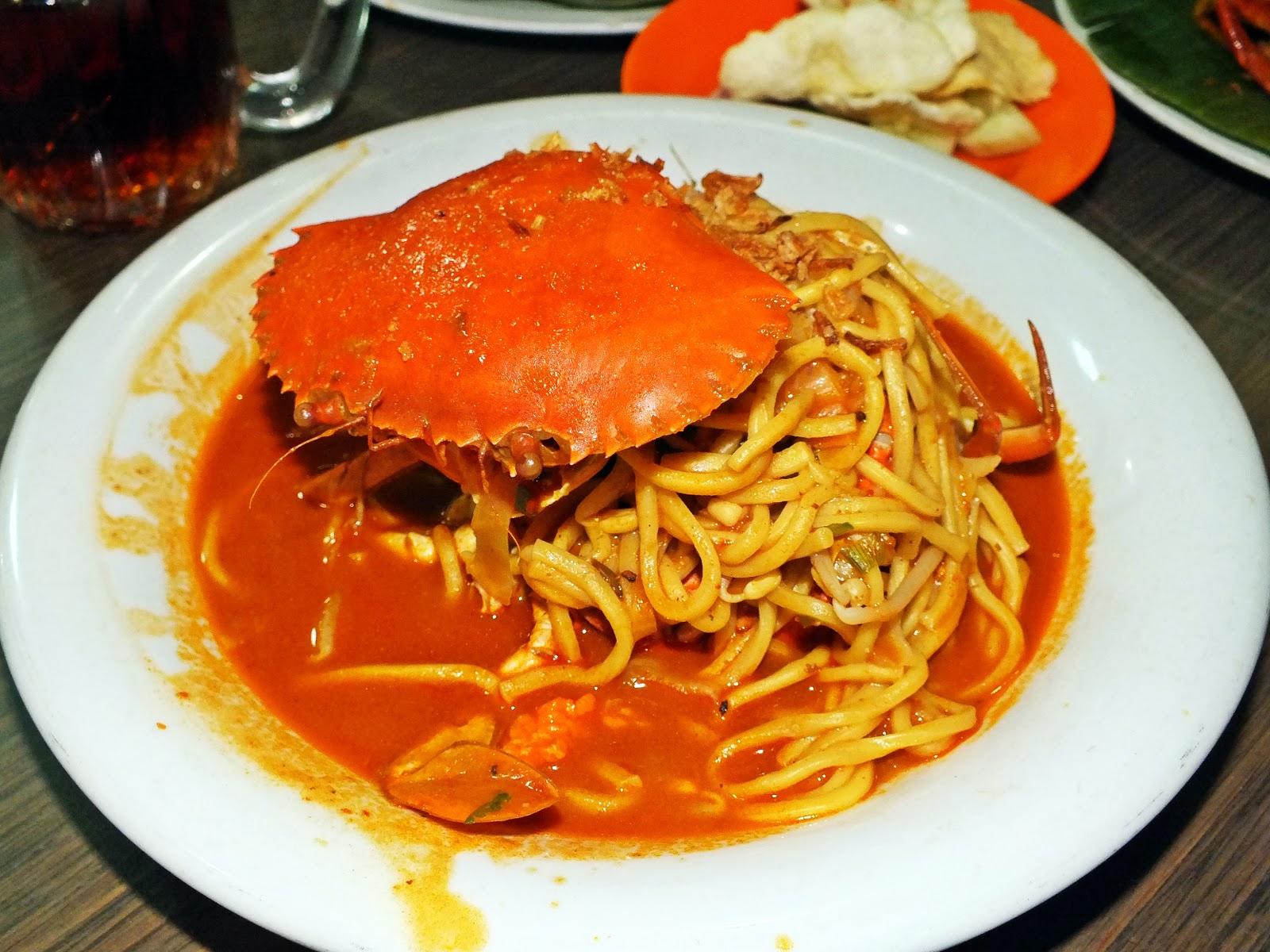 Venoth's Culinary Adventures: Mie Razali Crab Noodles ...