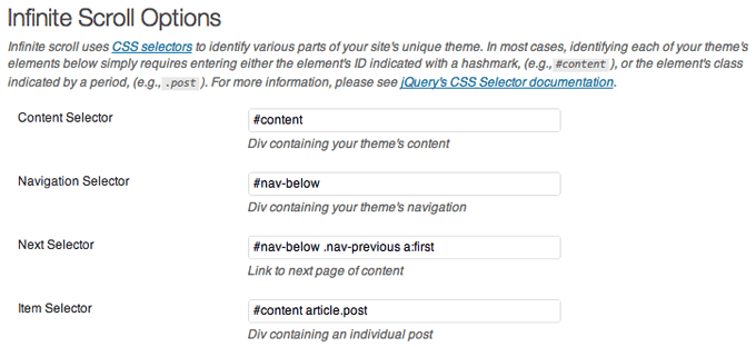 Implement Infinite Scrolling on a WordPress Theme