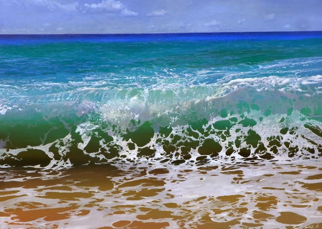 Cuadros pinturas oleos pinturas realistas al leo de for Cuadros de marinas