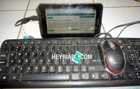 Cara Menggunakan Keyboard Eksternal dan Mouse PC Di Android