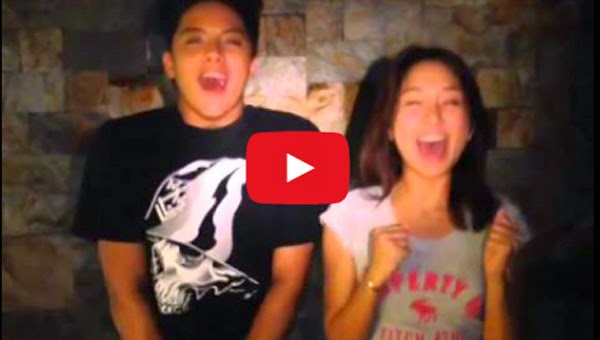 KathNiel does the Ice Bucket Challenge
