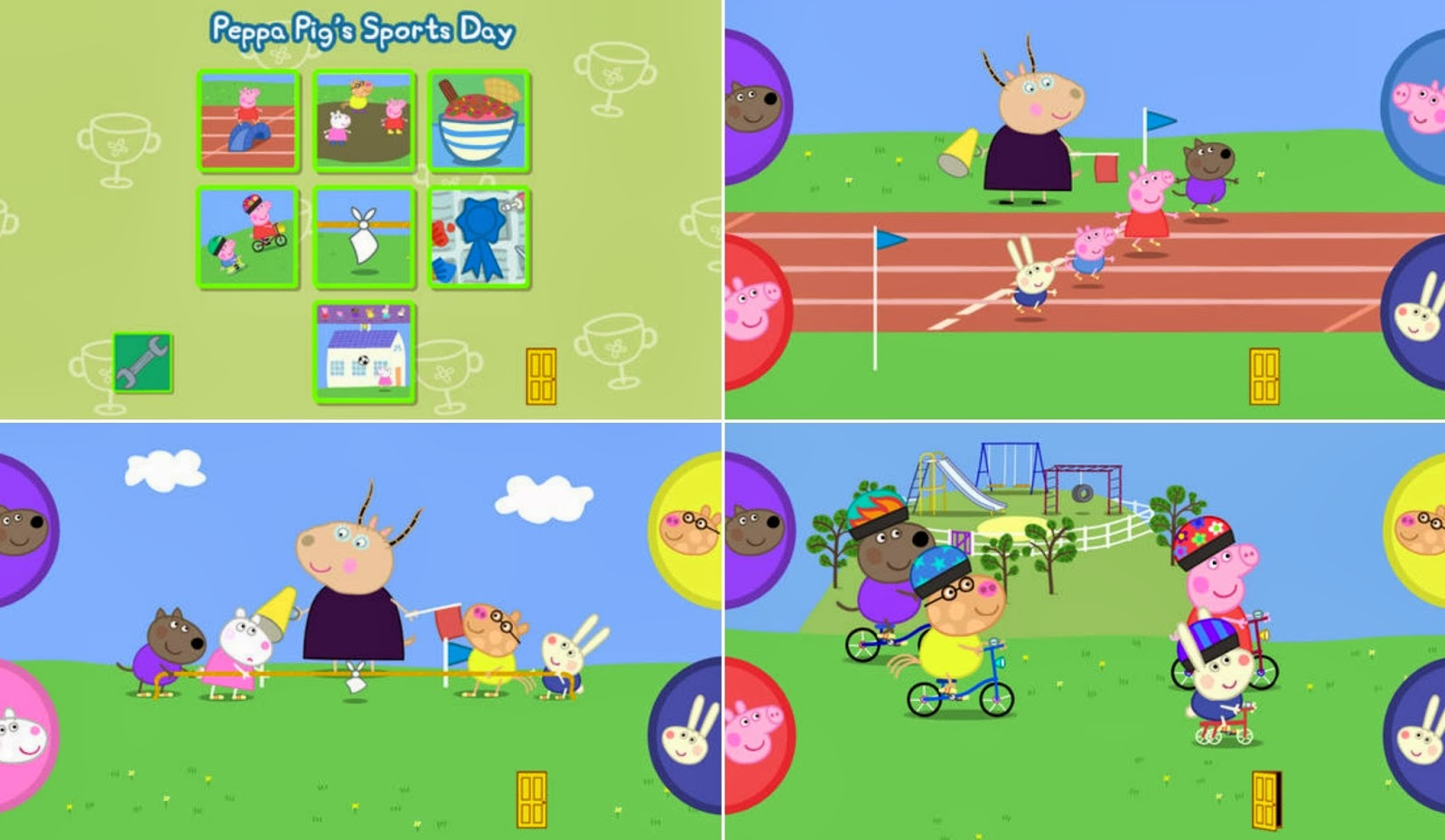 Peppa Pig's Sports Day app