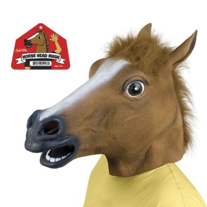 Horse Head Mask: The 11 Most Ridiculous Things on Amazon & Why I Want Them | Pirate Prerogative