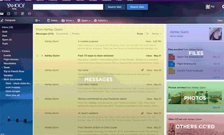 Nueva Busqueda inteligente en Yahoo Mail