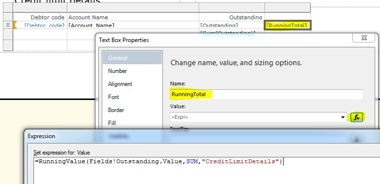 Keep It Simple and Fast: Running totals per page in SSRS to display
