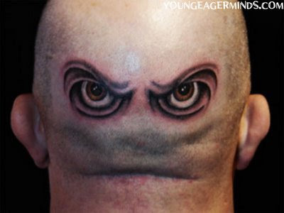 Here are some creative 3d tattoos
