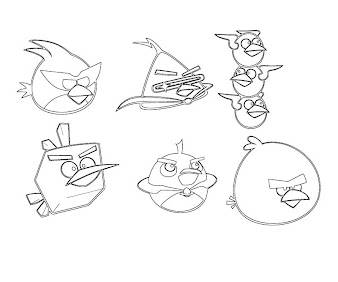 Angry Birds Go Kart Coloring Pages Angry birds go.