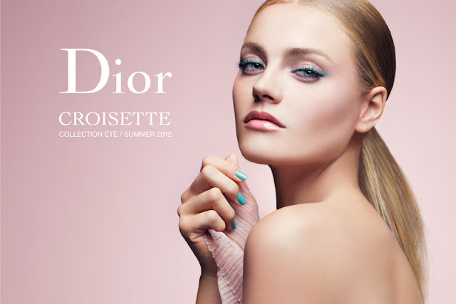 Christian Dior Make Up Croisette Summer Collection 2012 1 couleur eye gloss 240 Azur Diorshow liner waterproof 258 turquoise addict ultra gloss 224 or sunrise addict lipstick 414 casual gold dior vernis 401 saint-tropeiz 231 bikini swatch swatches