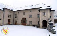 Bainville-sur-Madon - La Maison Callot enneigée