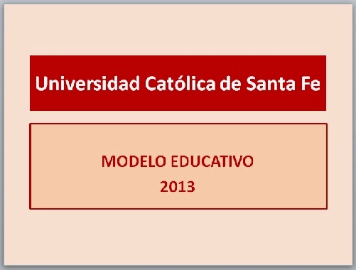 Documento de Modelo Educativo