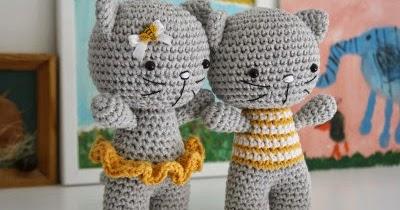 Little Cat: Free Amigurumi crochet pattern