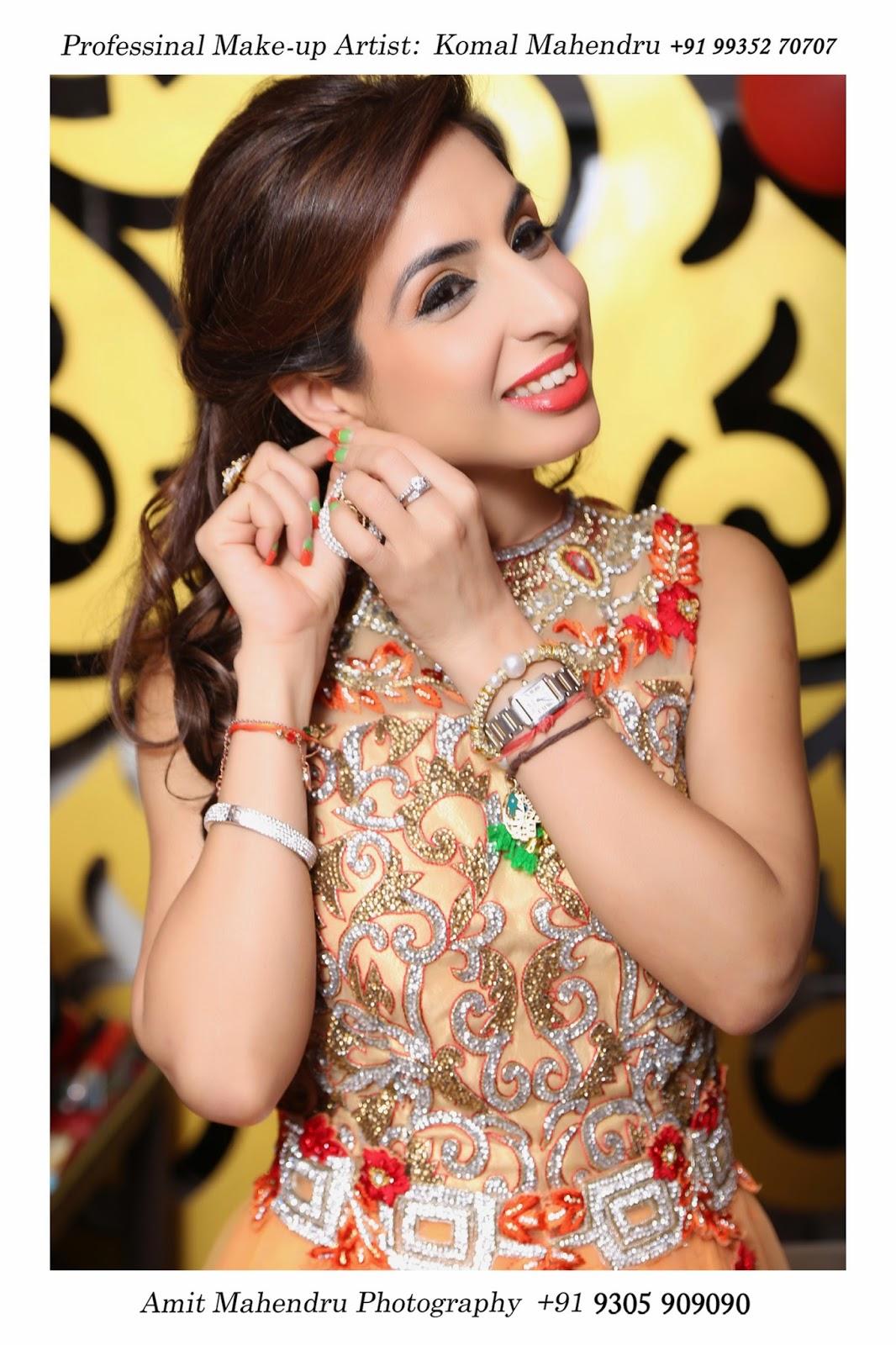 Komal mahendru s professional makeup lucknow india bridal makeup - Professional Makeup Artist In Lucknow By Komal Mahendru
