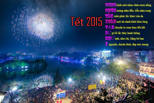Những lời chúc mừng năm mới Tết Ất Mùi 2015 hay mới độc và lạ nhất
