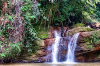 brunei Rampayoh waterfalls