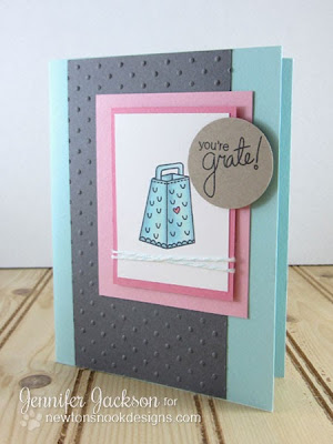 You're Grate cheese card by Newtons Nook Designs