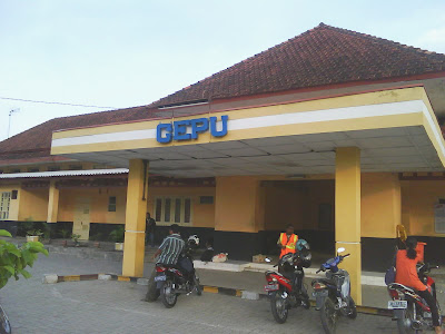 Cepu train, Cepu travel