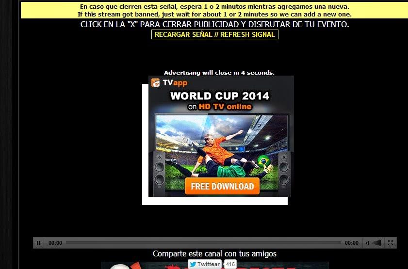 Cara Streamingan Pertandingan Piala Dunia 2014