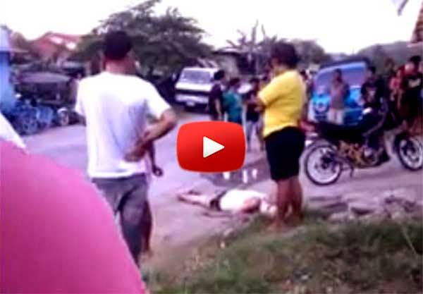 Davao Death Squad Strikes Again, Shoots Man Dead (Video)
