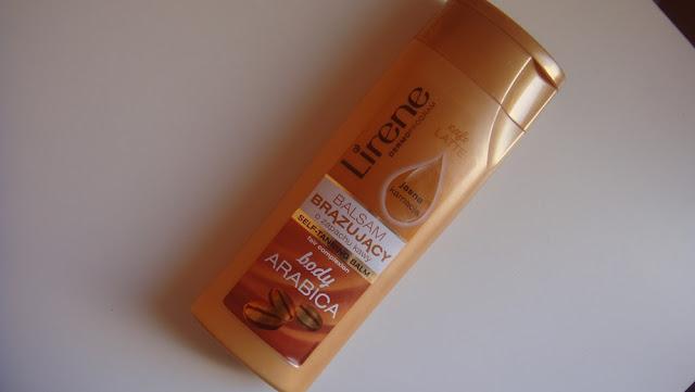 Lirene, Body Arabica, balsam brązujący o zapachu kawy