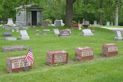 Elmer Ferdinand Gotsche Irving James Christian Caroline Mary Jensen Mound Cemetery Racine Wisconsin Paul