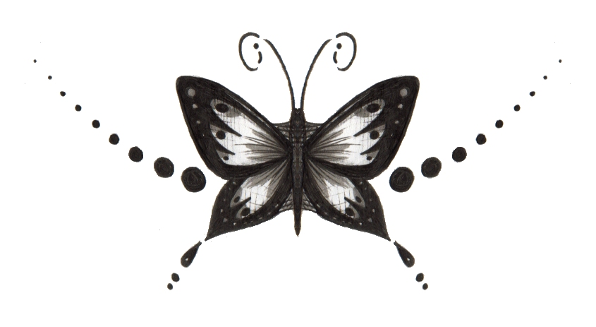 New Tribal Butterfly Tattoos Designs 2018