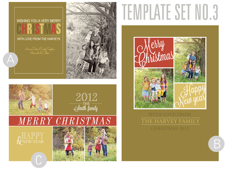 Free Holiday Card Templates – Holiday Card Template