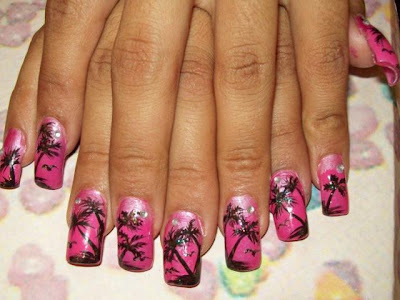 nail nailart 3dnailart arylicnail art kawaii japanese candy design cool best hello kitty candy tokyo 2528222529 - Nail Art