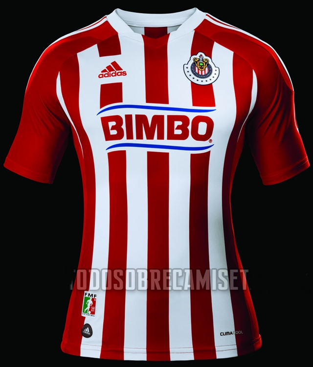 Chivas playera adidas de local 2011 2012