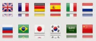 Cara buat google translate menarik lambang bendera