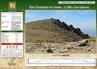 RUTA: PLATAFORMA GREDOS - LA MIRA