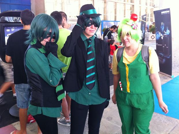 Cosplay en la Comic Con Spain 2012