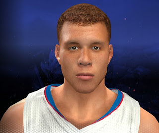 NBA 2K14 Blake Griffin Cyberface Mod