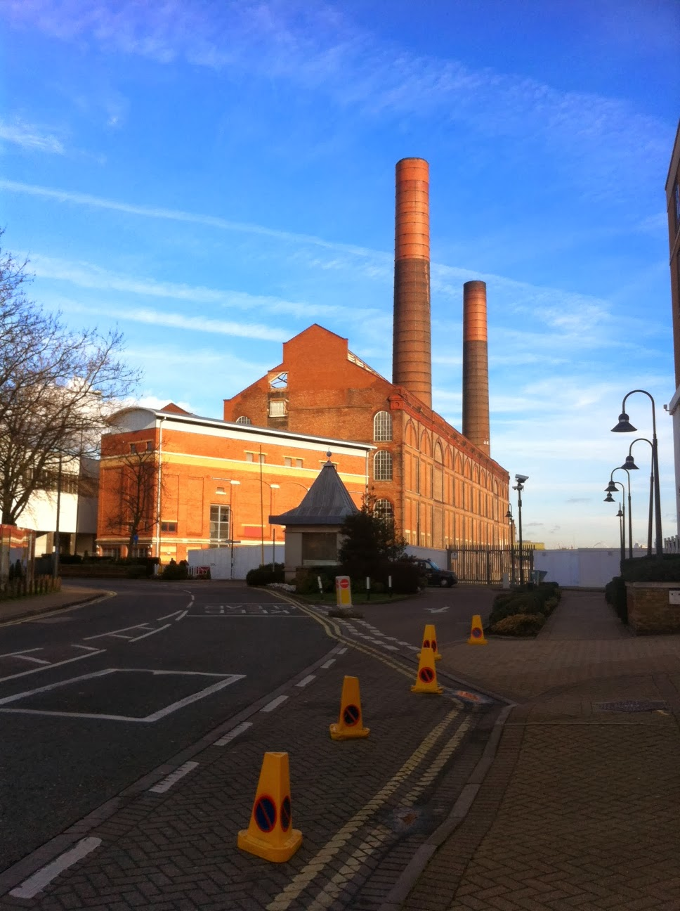 Lots Road Power Station, Imperial Wharf, London