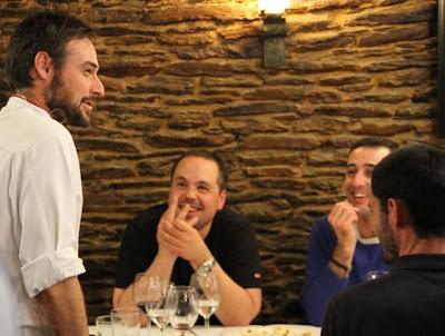 Aplausos para el chef Miguel ángel de la Cruz . Blog Esteban Cadpevila