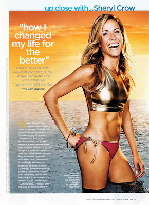Sheryl Crow HQ Pictures Shape US Magazine Photoshoot October 2007
