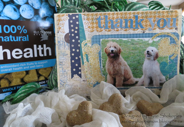 Thank You Card by Lynn Shokoples featuring BoBunny and 17Turtles