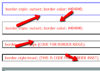 Add Professional borders to your blogger posts