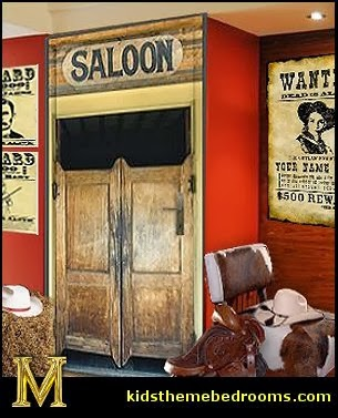 Cowboy Theme Bedrooms   Rustic Western Style Decorating Ideas   Rustic Decor    Cowboy Decor