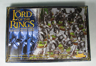 LotR SBG Warriors of Minas Tirith box; Zestaw Władca Pierścieni Wojownicy z Minas Tirith allegro