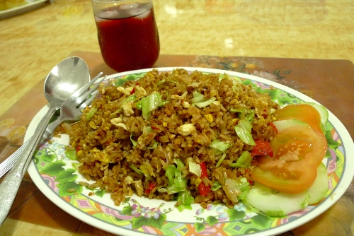 how to make nasi goreng with packet mix