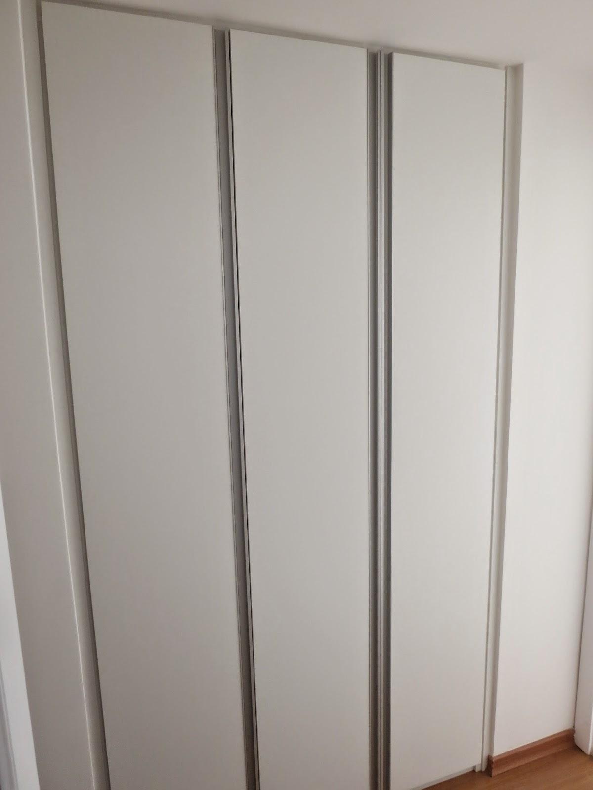 Lopes arm rios planejados roupeiro padr o branco - Perfiles de aluminio para armarios ...