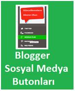 Blogger Sosyal Medya Butonlar