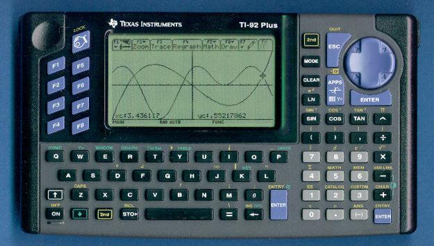 Educar es Matemáticas: Calculadora TI-92