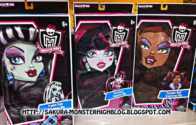 Buscadas Por Mi  Las Pelucas Y Accesorios De Las Monster High